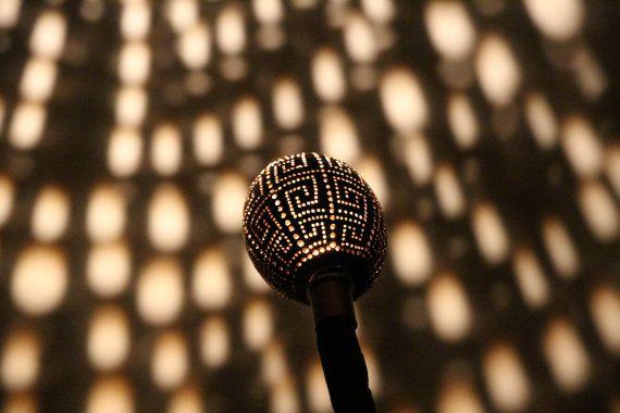 Table lamp Terrencendental by ZenLightArt on Etsy