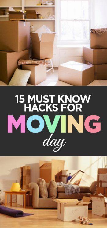 Moving day, moving day tips, moving day organization, popular pin, hacks, life hacks, moving day hacks, DIY organization.