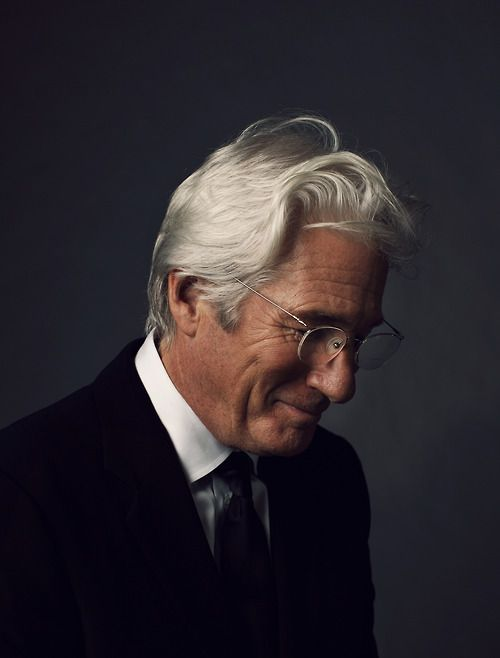 Richard Gere by Patrick Fraser can it be possible that he gets even more handsome with age! Love Richard Gere ♥♡