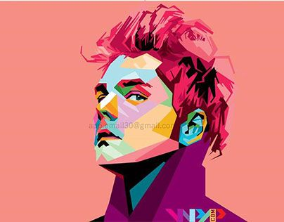 """Check out new work on my @Behance portfolio: """"gerard way on wpap """" http://on.be.net/1MvClQN"""