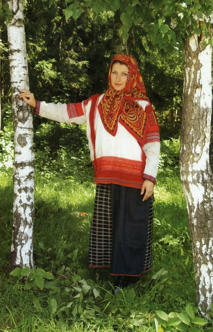 Rus Köylü kızı