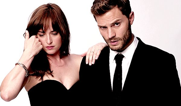 """"""" """"It was not difficult to deal with nude scenes with Jamie, who plays Christian Grey, because he was so kind and attentive. He never made me feel in a strange situation or embarrassing. And he is..."""