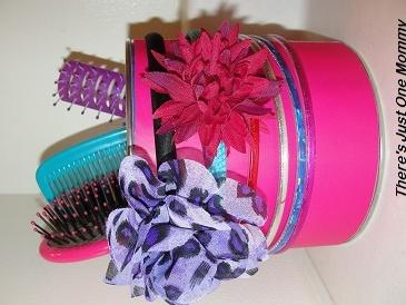 hair supplies organizer