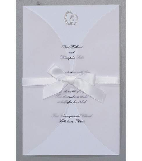 Wilton® 25ct Print-Your-Own Invitations Kit-Infinity