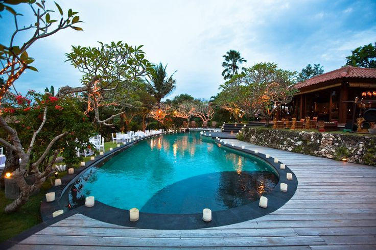 Large Swimming Pool at Villa East Indies