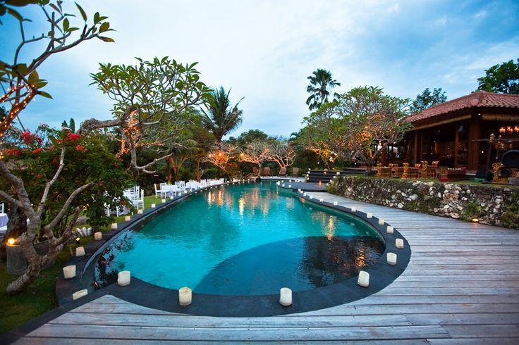 Large Swimming Pool at Villa East Indies
