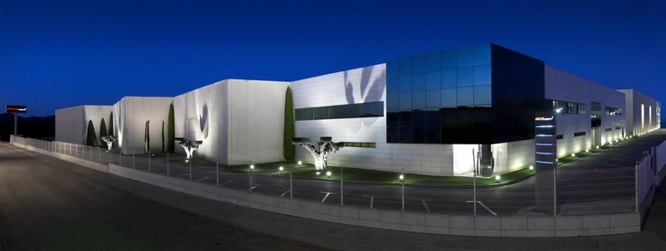 Panoramic view of the exterior of the facilities — in Arkoslight.