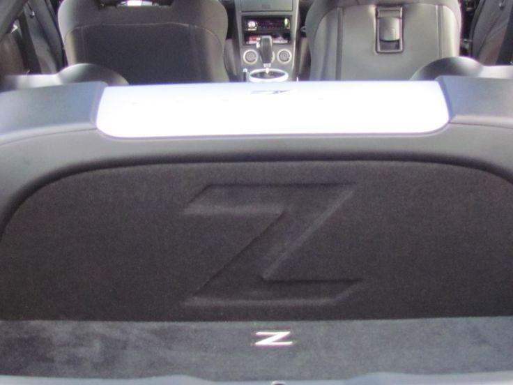 "Zenclosures Nissan 350z Subwoofer Box 2-10"" FRONT FIRE w/ Z LOGO. 350z Subwoofer Box."