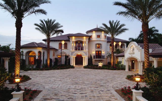 Spanish style mansion