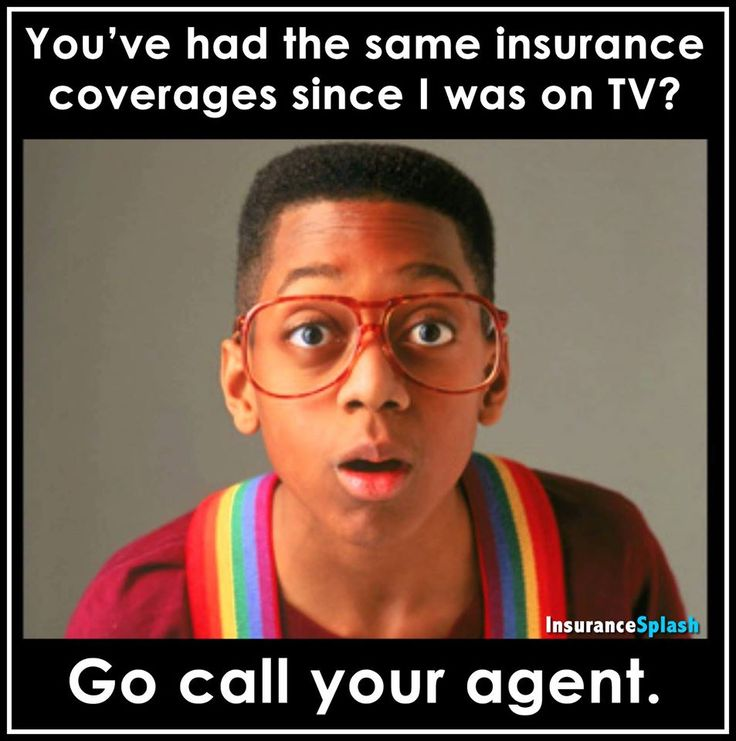 If you haven't reviewed or updated your insurance coverages since the days Steve Urkel was on TV...it is probably time to give us a call!!  #InsuranceHumor via @InsuranceSplash