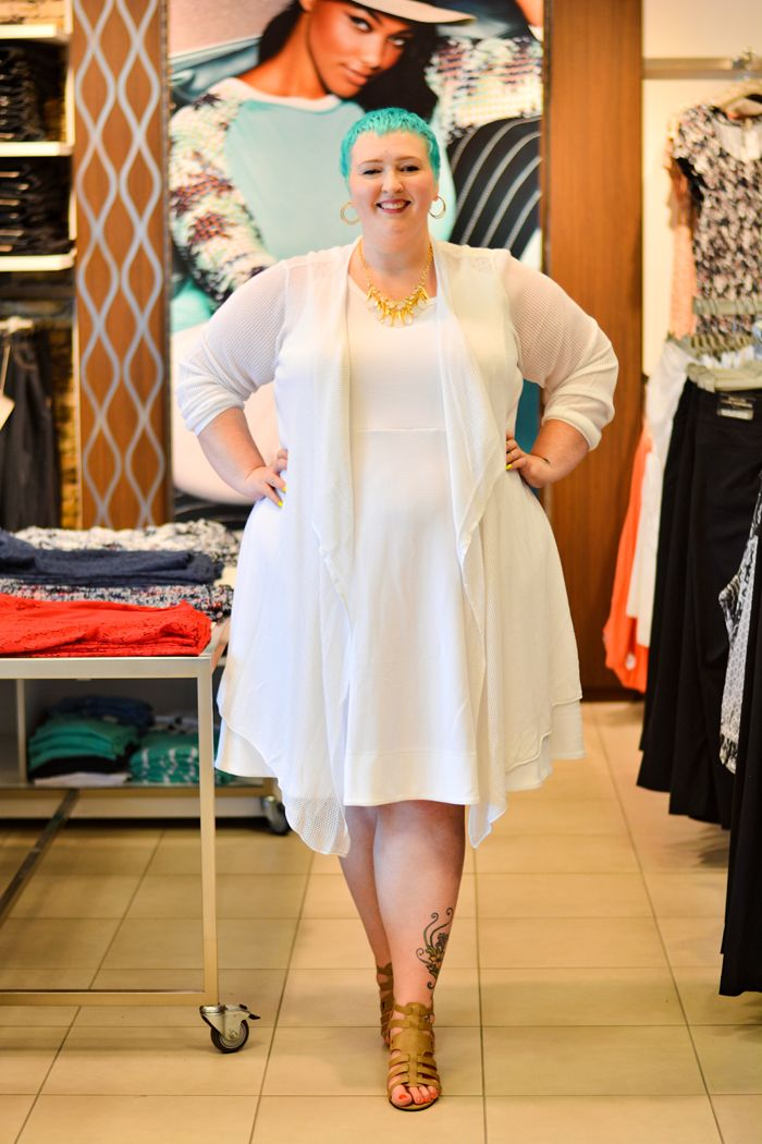 How to Differentiate Your Dress from Day to Night With 'Flight of The Fat Girl' - NIGHT LOOK #penningtons