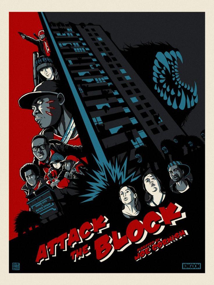 Attack the block Poster de peliculas, Dibujos, Series y