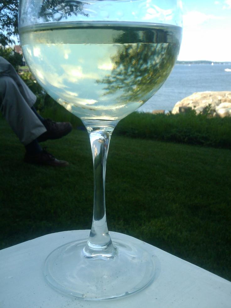 Through a glass!