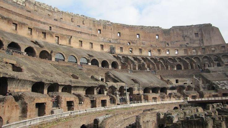 Binnenzijde van het Colosseum