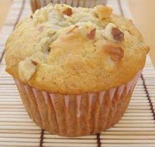 Muffins bananes et noix à l'avoine