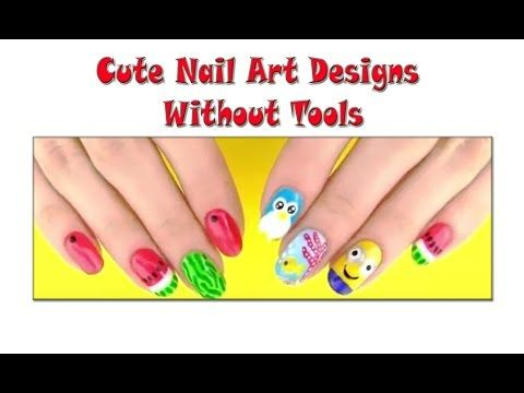 Cute Nail Art Designs Without Tools | Makeup Tutorial Channel... See More Here : http://goo.gl/jDA1dc  Hope Your Enjoy! ..... Like, Share, Comment & Subscribe Us!  More Makeup Tutorial Channel videos ... Click Here: https://www.youtube.com/channel/UC3SbRN6zFEgCdnKHZj28B4w  #nailart #nailarttutorial #nailarttutorialvideo