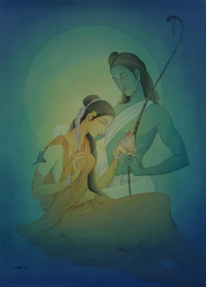 Ram Sita by Rajib Gain