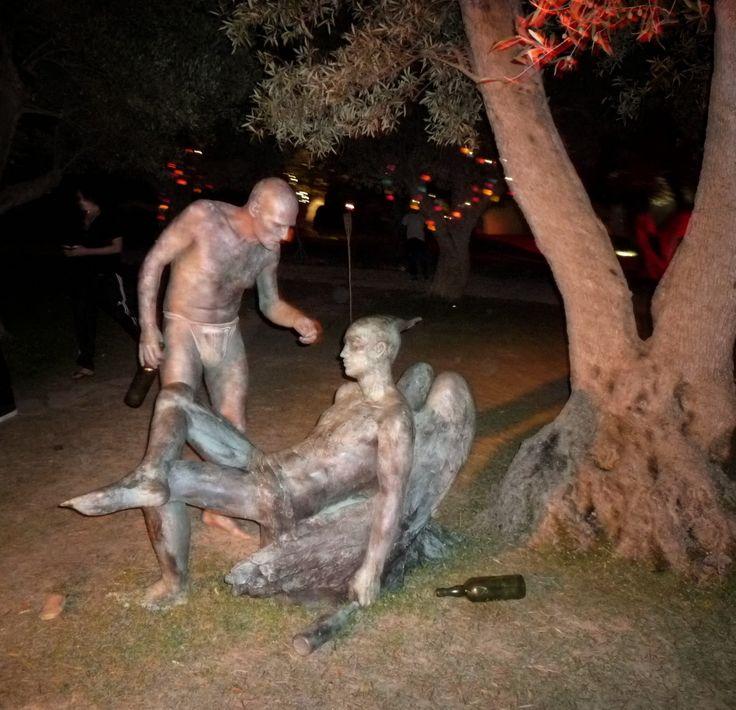 Fiesta Circo del Sol, Ibiza. Body Paint by Alegria Make Up.