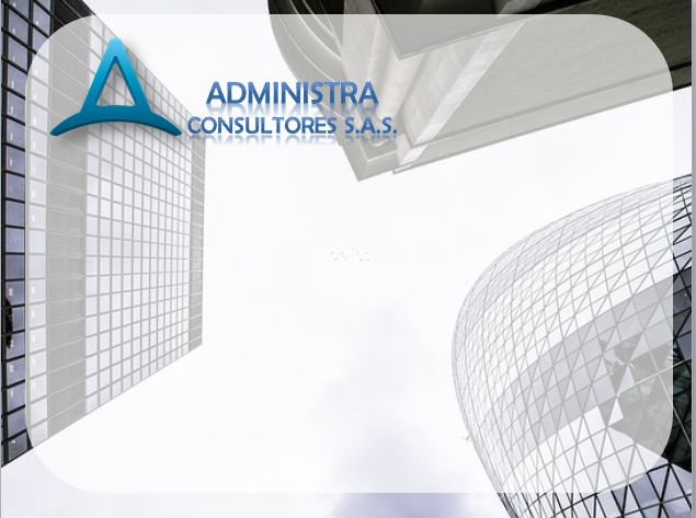 Diseño de plantilla corporativa para presentaciones para ADMINISTRA Consultores S.A.S  // Categoría: DISEÑO WEB