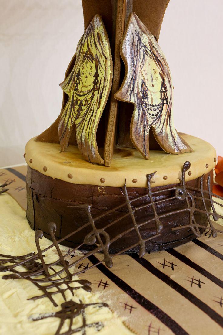 Masters de la Boulangerie 2014 – candidat d'Algérie, Toufik BENOUARET, catégorie Pièce Artistique /2014 Bakery Masters – candidate from Algeria, Toufik BENOUARET, Artistic Piece category  Copyright Clémentine BEJAT