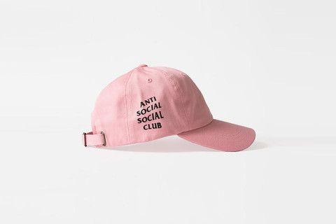 Anti Social Club Baseball Hat