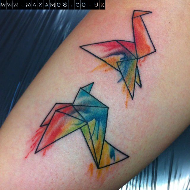 46 best images about Origami Tattoos on Pinterest ... - photo#28