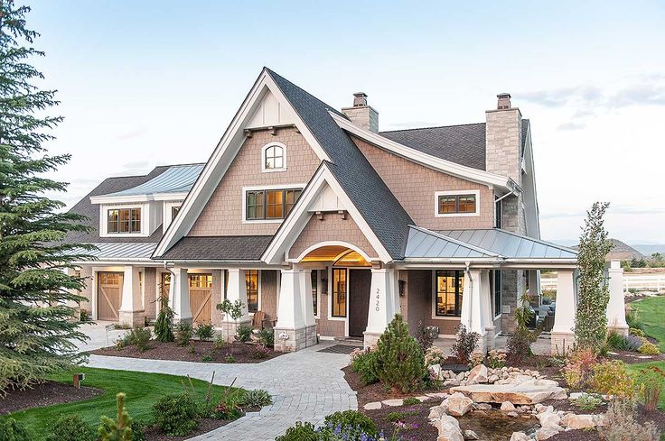 Exclusive Luxury Craftsman with No Detail Spared - 18295BE | 1st Floor Master Suite, Butler Walk-in Pantry, CAD Available, Craftsman, Den-Office-Library-Study, Exclusive, Loft, Luxury, Media-Game-Home Theater, Mountain, Northwest, PDF, Photo Gallery, Premium Collection, Wrap Around Porch | Architectural Designs