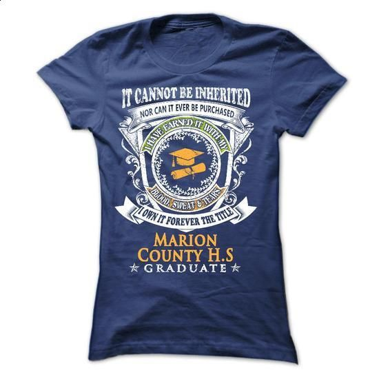 for YOU who graduated from Marion County High School - #casual shirt #hoodie pattern. CHECK PRICE => https://www.sunfrog.com/States/for-YOU-who-graduated-from-Marion-County-High-School-Ladies.html?68278