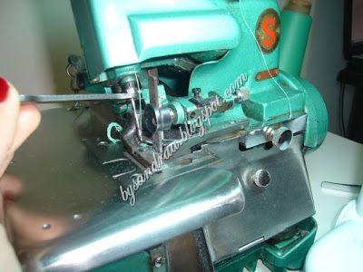 By Sandra: Dicas e truques sobre a máquina overlock