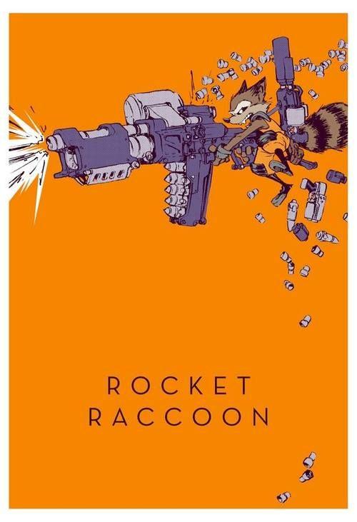 Rocket Raccoon by Jake Parker