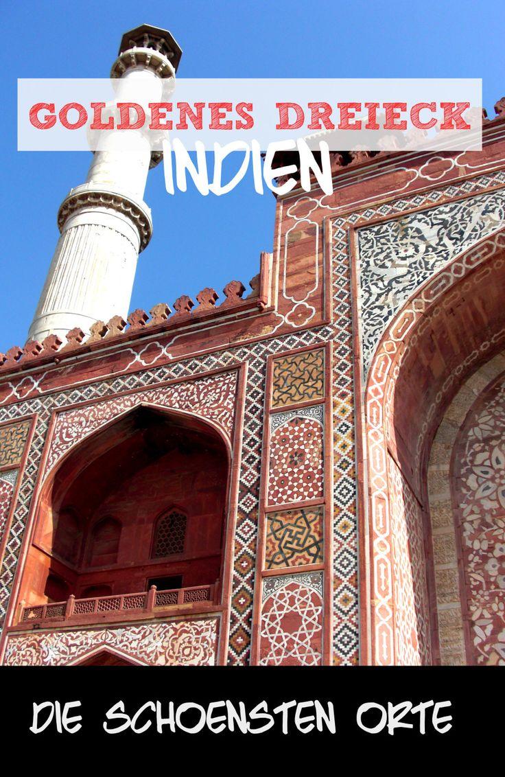 Goldenes Dreieck - Die schönsten Sehenswürdigkeiten in Indien: http://www.cityseacountry.com/de/best-places-to-visit-in-india-golden-triangle/