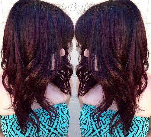 bag shoulder cherry coke hair color