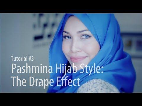 ▶ [Adlina Anis] Hijab Tutorial 3 | The Drape Effect - YouTube