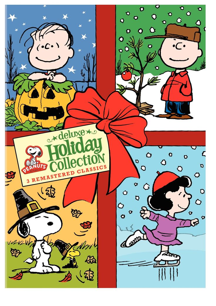 Amazon.com: Peanuts Holiday Collection (It's the Great Pumpkin, Charlie Brown / A Charlie Brown Thanksgiving / A Charlie Brown Christmas): Various: Movies & TV