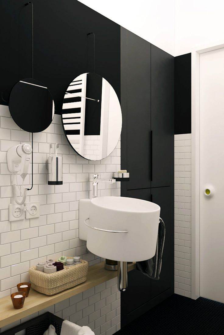 Bathroom with vanity bidet and toilet bathroom style bathroom tiles - Interior Design Modern Appliances Bathroom Design With Black And White Interior Color Schemes Plus Circle