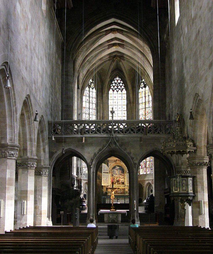 ESSLINGEN, St. Dionys Kirche , Stadtkirche, Schöne Architektur ,65-32/4752 – Anne Comer