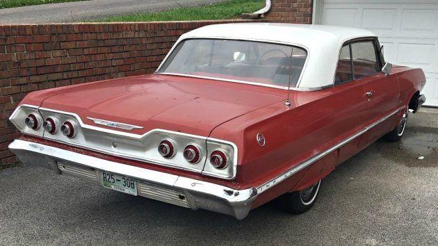 2 Owner Coupe 1963 Chevrolet Impala Chevrolet Impala Impala Chevrolet