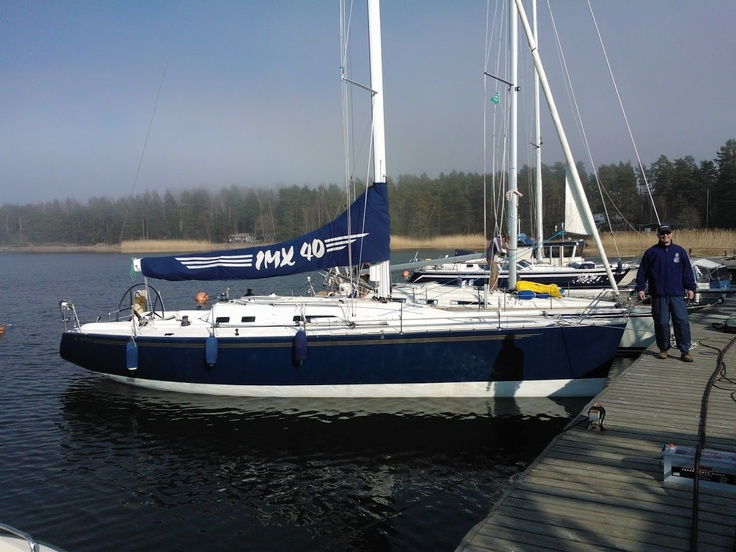 We thank s/y JukeboX for fond sailing memories and thousands of nautical miles in the Baltic Sea and all the way to Svalbard. Sail away! #JukeboX #IMX40 #sailing