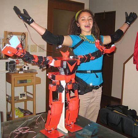 Костюмы роботов из железа