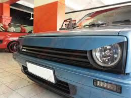 Image result for vw velocity golf with blue lights