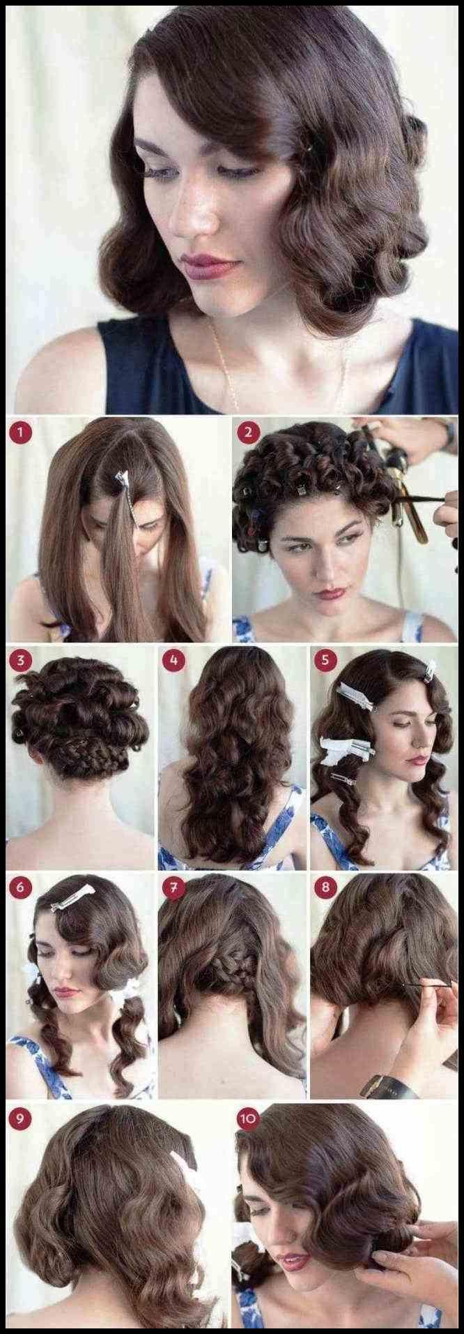 Einfache Party Frisuren für lange Haare Tutorials Schritt für …