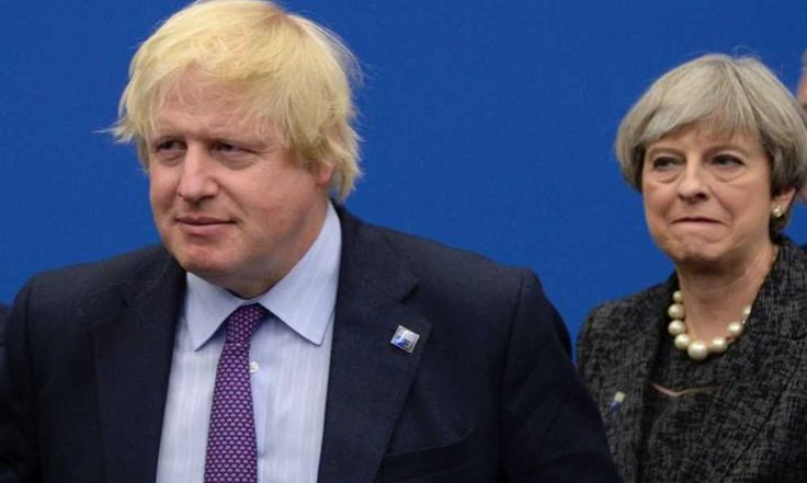 """Top News: """"UK POLITICS: Boris Johnson, Brexit Sour Theresa May Conservative Party in Manchester"""" - https://i0.wp.com/politicoscope.com/wp-content/uploads/2017/10/Theresa-May-Boris-Johnson-UK-POLITICS.jpg?fit=1000%2C600 - """"I am enjoying the conference very much and the prime minister just gave a great speech to the business lunch,"""" Johnson said. When asked if he was seeking to overshadow May, he said: """"Absolutely not.""""  Boris, as he is known in Britain, repeatedly up"""