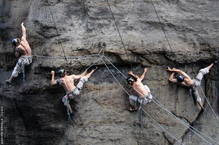 """""""Das Elbsandsteingebirge ist das schönste  Klettergebiet der Erde"""" meint Kletterpionier Jean Claude Droyer"""