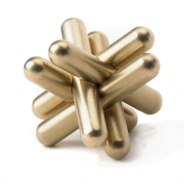 Craighill - Brass Jack Puzzle / Paperweight At AHA