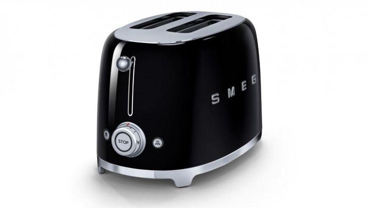Smeg 50s Style Toaster - Black