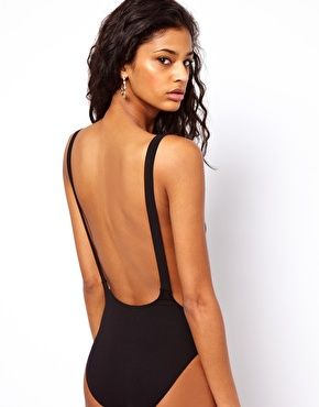 Image 2 of ASOS PETITE Body With Backless Detail