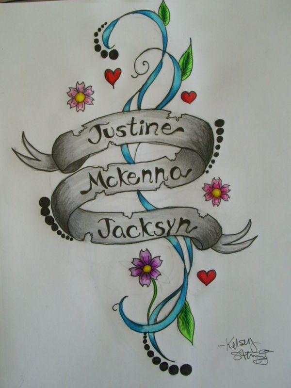 1000 ideas about kid name tattoos on pinterest name for Mom name tattoos