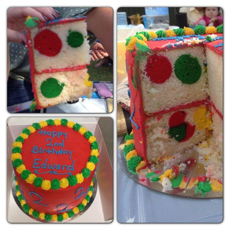 Spotty dotty cake by Brenno's Hotbake