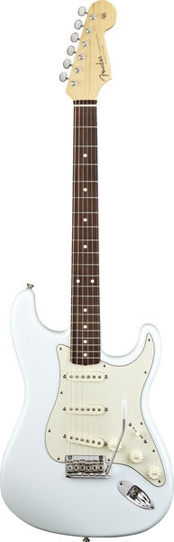 """Fender Classic Player 60s Stratocaster in Sonic Blue with 12"""" radius - very nice."""