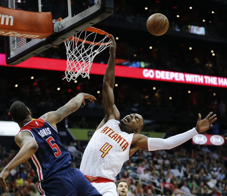 Markieff Morris makes Paul Millsap earn two at the free throw line. (AP Photo/John Bazemore)  ATLANTA — Washington Wizards forward Markieff Morris continues to make the first postseason series of his career a memorable one — mostly with his words. While many players might opt for cliched...  http://usa.swengen.com/after-game-3-markieff-morris-calls-out-the-hawks-paul-millsap-hes-a-crybaby/